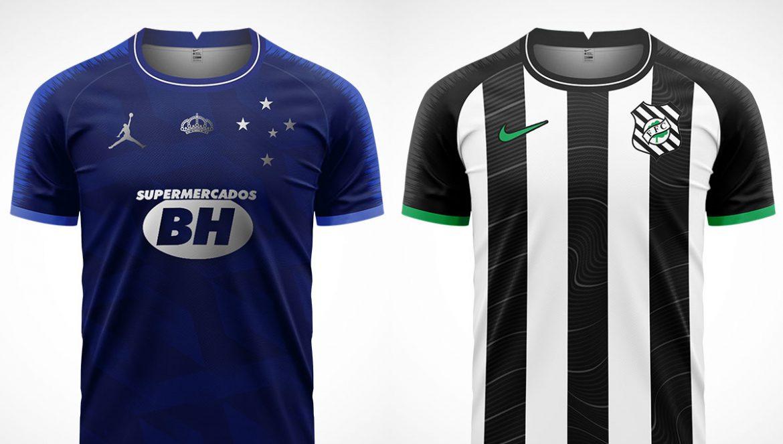 Camisas do Brasileirão Série B 2020 Nike (IK-RO Design)