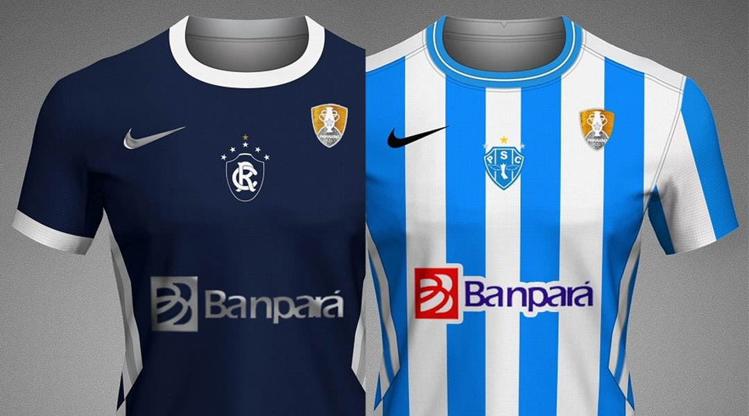 Camisas do Campeonato Paraense 2020 Nike (Vitor Guedes)