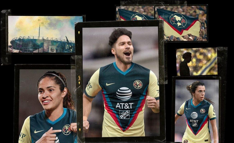 Camisas do Club América 2020-2021 Nike