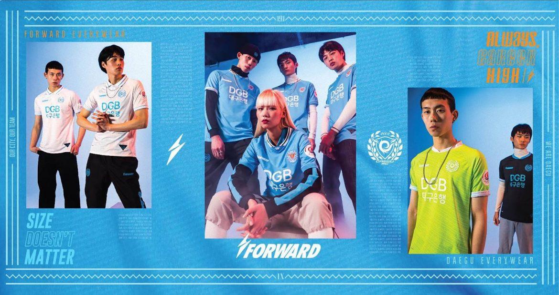 Camisas do Daegu FC 2020 Forward
