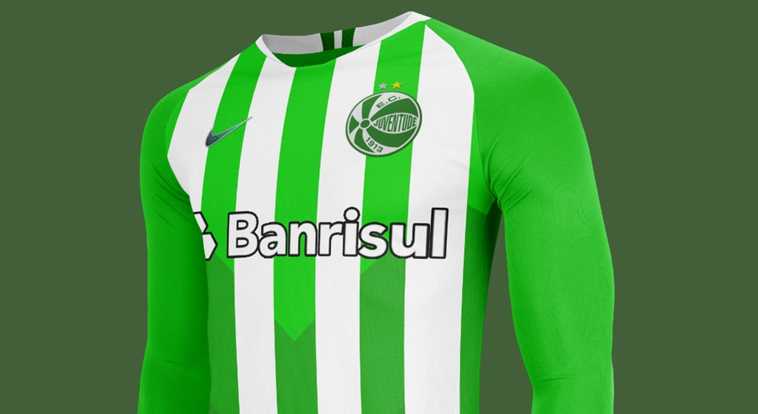 Camisas do EC Juventude 2020-2021 Nike