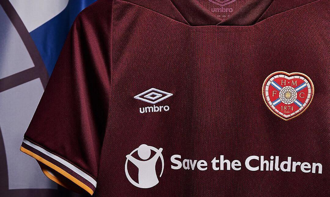 Camisas do Heart of Midlothian 2020-2021 Umbro abre
