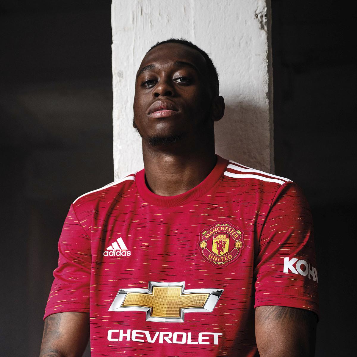 Camisas do Manchester United 2020-2021 Adidas a
