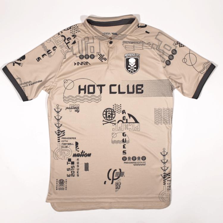 Camisas do Providence City FC 2020-2021 Inaria