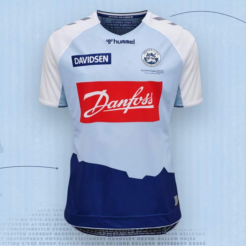 Camisas do SønderjyskE 2020-2021 Hummel