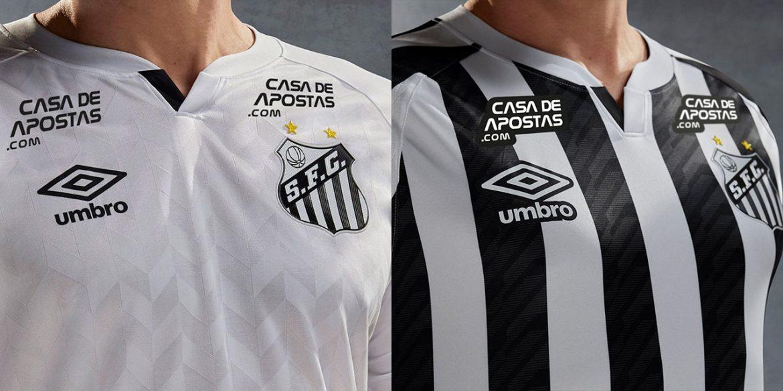 Camisas do Santos FC 2020-2021 Umbro a