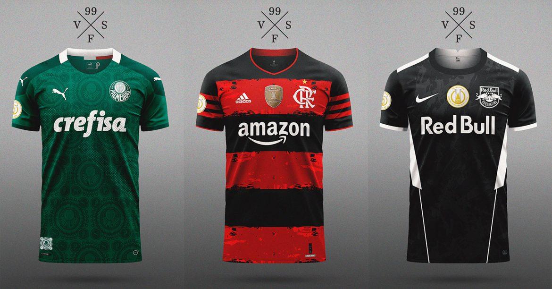 Camisas dos times do Brasileirão 2020 (Visilfer99)