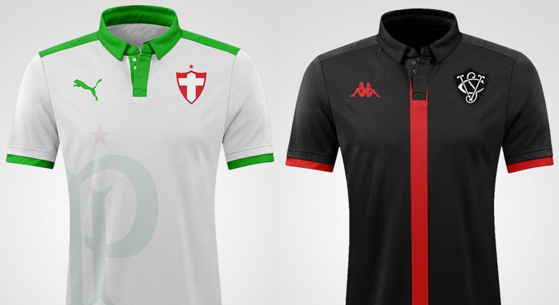 Camisas retrô de clubes brasileiros (DR Concept)