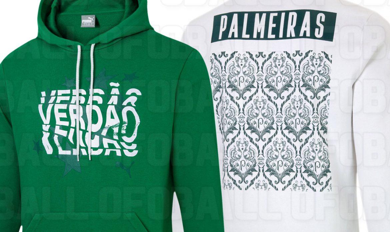 Coleção casual 2020-2021 PUMA do Palmeiras tem imagens vazadas
