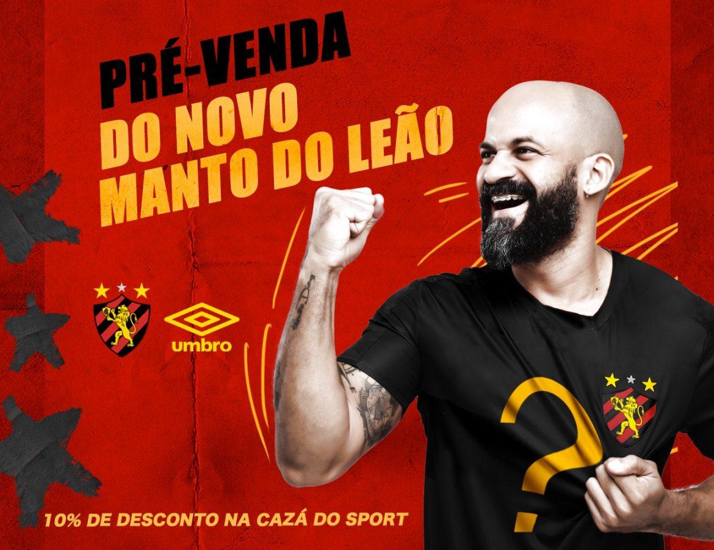 Sport Recife coloca novos mantos em pré-venda