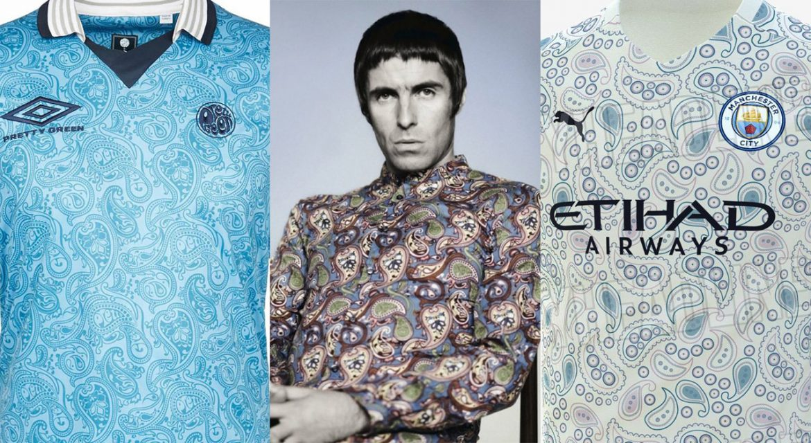 Liam Gallagher Pretty Green x Manchester City PUMA