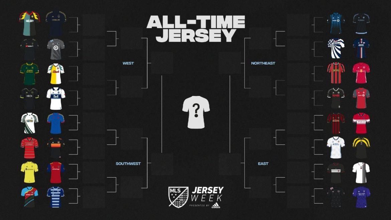 MLS lança votação para definir melhor camisa da história