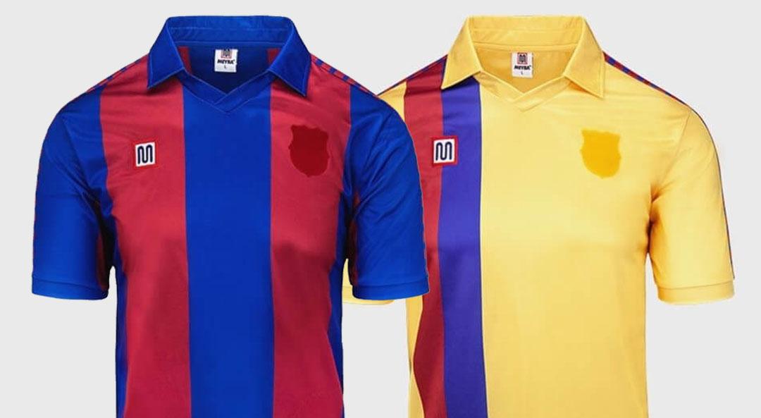Meyba lança coleção retrô do FC Barcelona