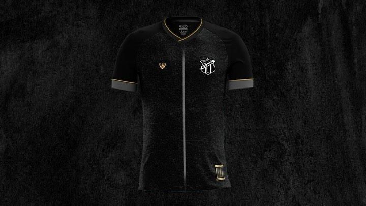 Terceira camisa do Ceará 2020-2021 Vozão Nação Alvinegra 1
