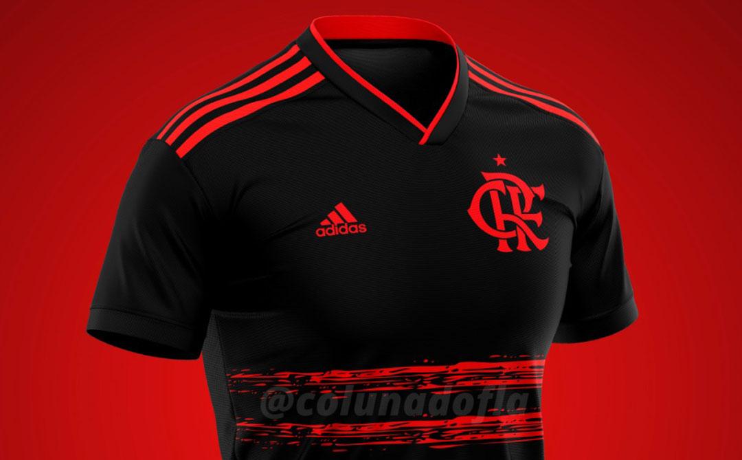Terceira camisa do Flamengo 2020-2021 Adidas ColunadoFla a