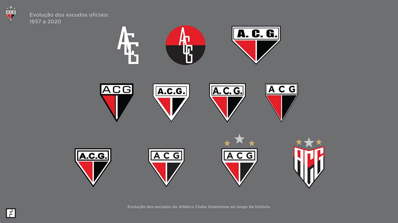 Novo Escudo do Atlético-GO