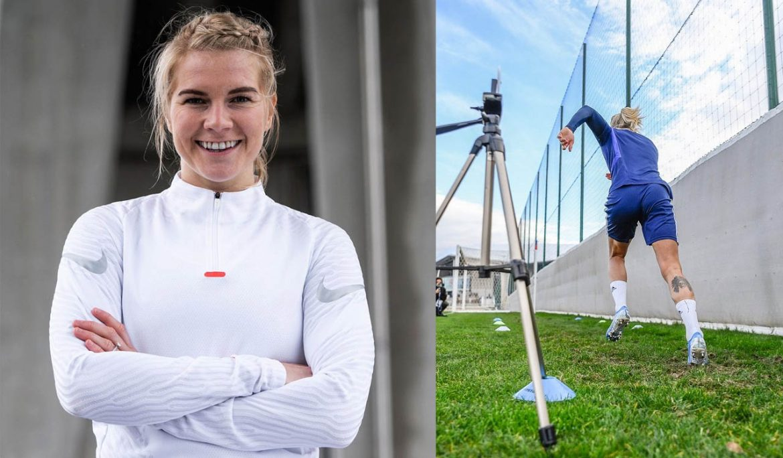 Ada Hegerberg Nike abre
