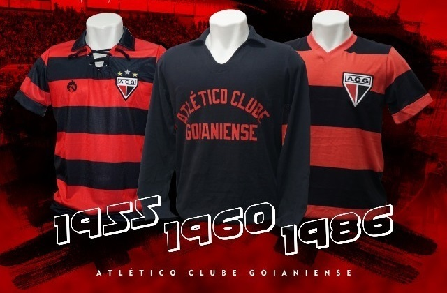 Atlético-GO lança coleção retrô de ídolos e faz sucesso