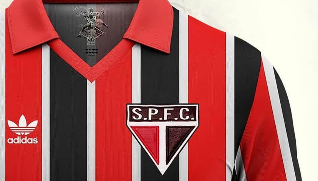 Camisa Leônidas da Silva do São Paulo 2020 Adidas (Eduardo Schwarz)