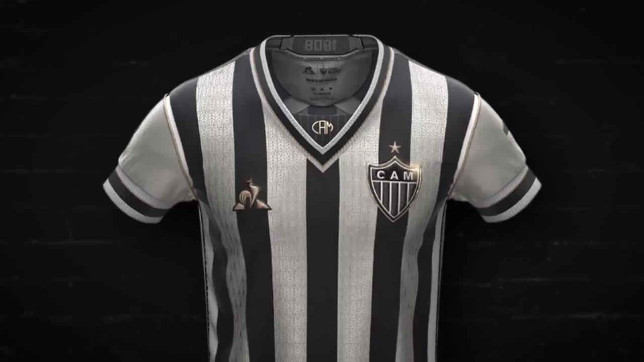 Camisa Manto da Massa Atlético-MG 2020 Le Coq Sportif