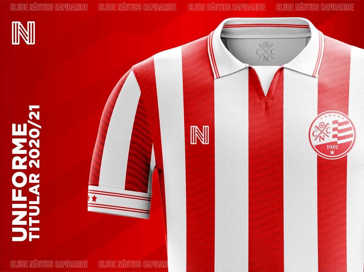 Camisa #OMantoéSeu do Náutico 2020-2021 N6 (Renan Alexandre)