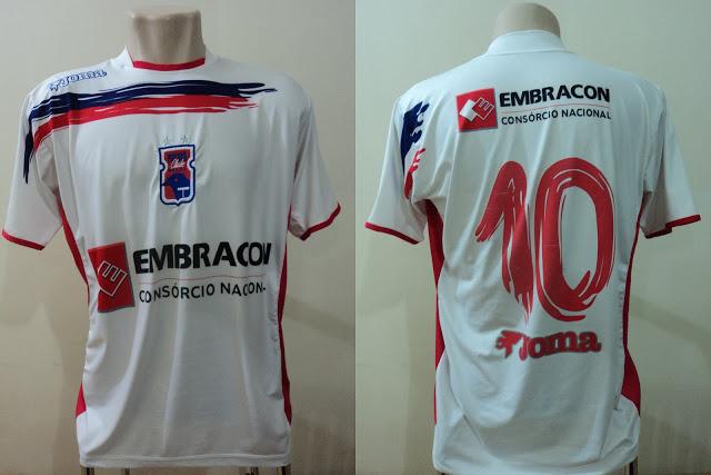 Camisa do Paraná Clube 2007 Joma