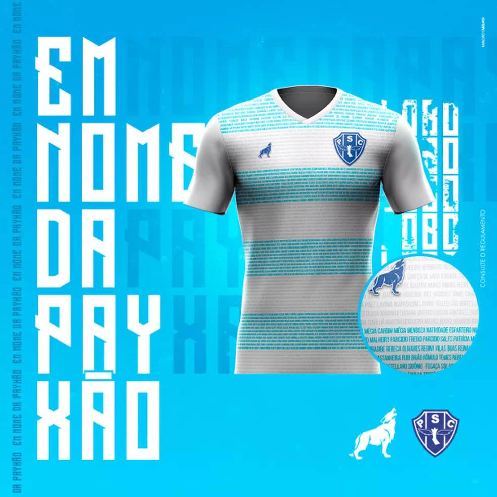 Camisa especial do Paysandu 2020-2021 Lobo