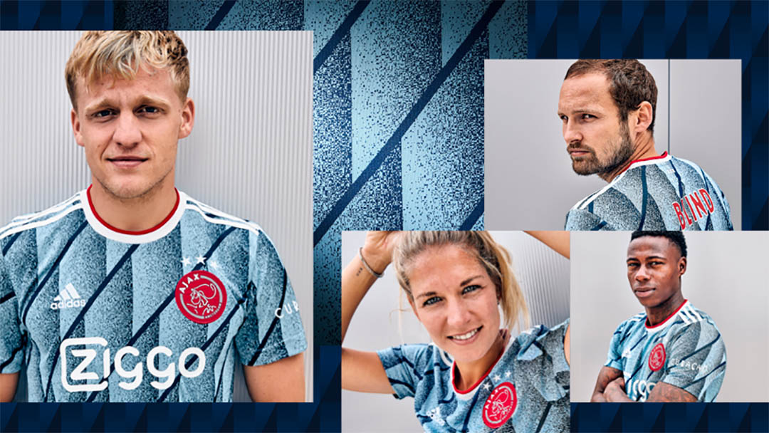 Camisa reserva do Ajax 2020-2021 Adidas