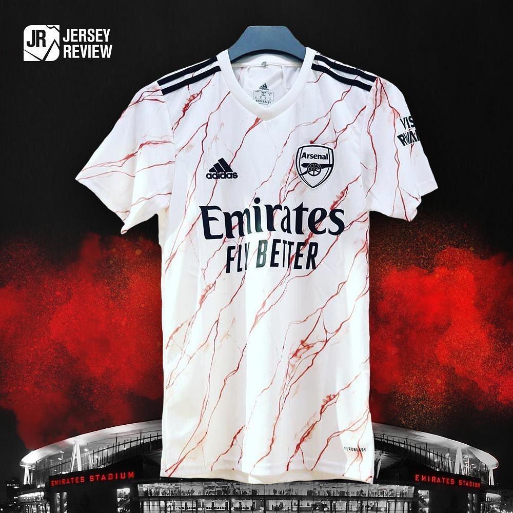 Camisa reserva do Arsenal 2020-2021 Adidas