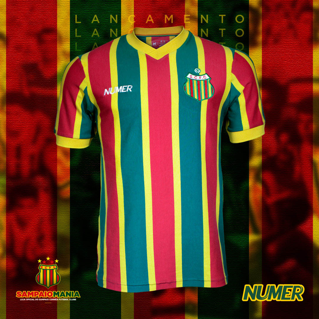 Camisa retrô do Sampaio Corrêa 1988 Numer