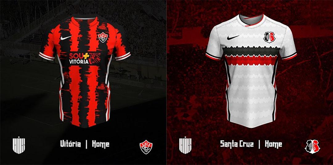 Camisas da Copa do Nordeste 2020 Nike (CM's Design)
