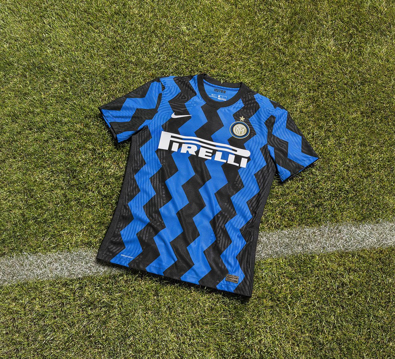Camisas da Inter de Milão 2020-2021 Nike