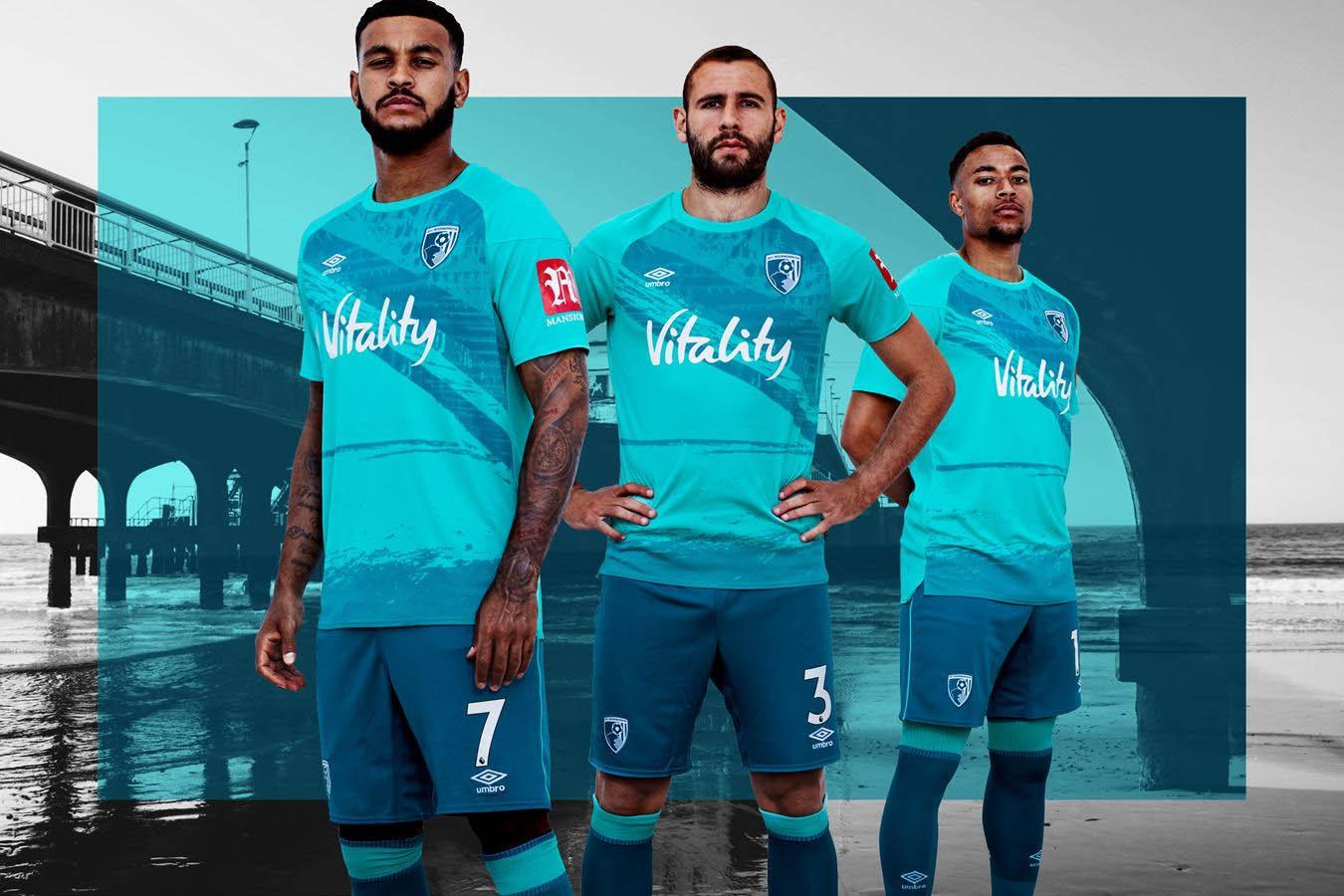 Camisas do AFC Bournemouth 2020-2021 Umbro 1