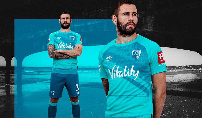 Camisas do AFC Bournemouth 2020-2021 Umbro 2
