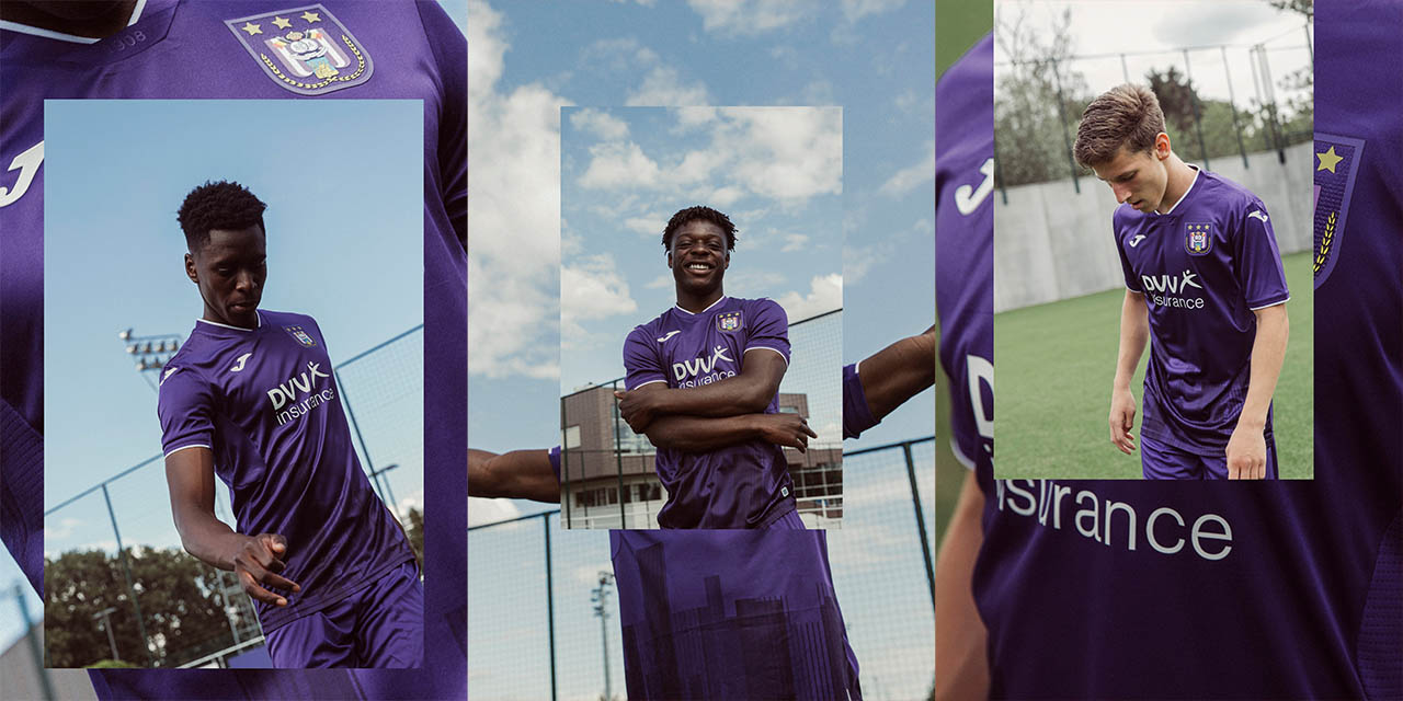 Camisas do Anderlecht 2020-2021 Joma Home