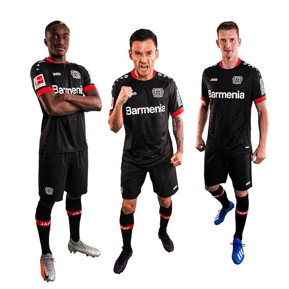 Camisas do Bayer Leverkusen 2020-2021 Jako Titular