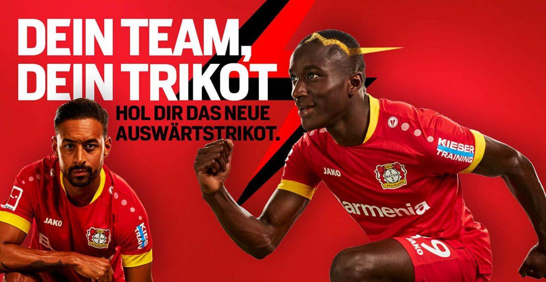 Camisas do Bayer Leverkusen 2020-2021 Jako a