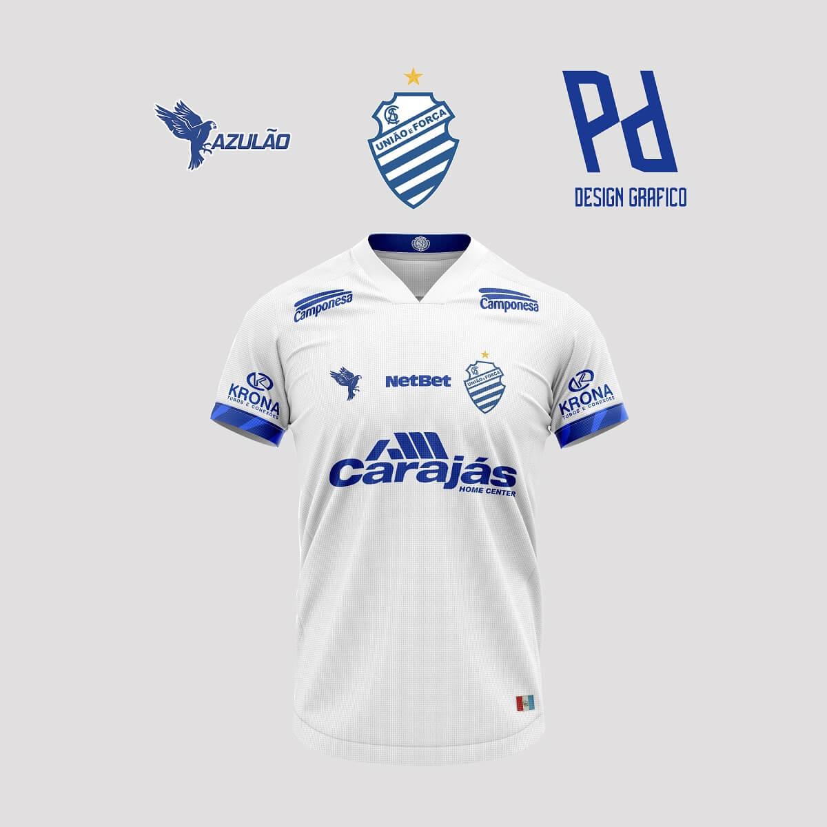 Camisas do CSA 2020-2021 Azulão (Bruno Pehlke)