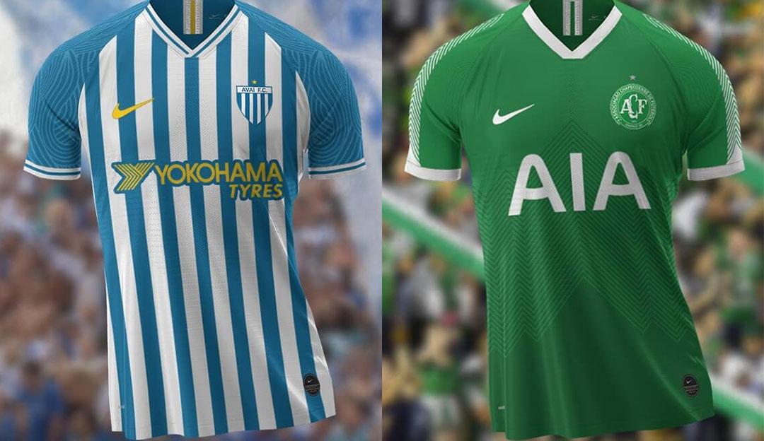 Camisas do Campeonato Catarinense 2020 Nike (Guilherme Mafra)
