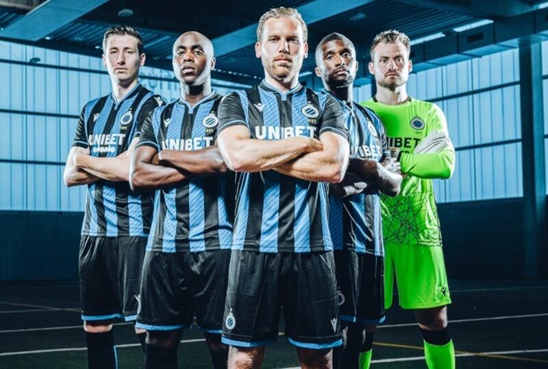 Camisas do Club Brugge 2020-2021 Macron