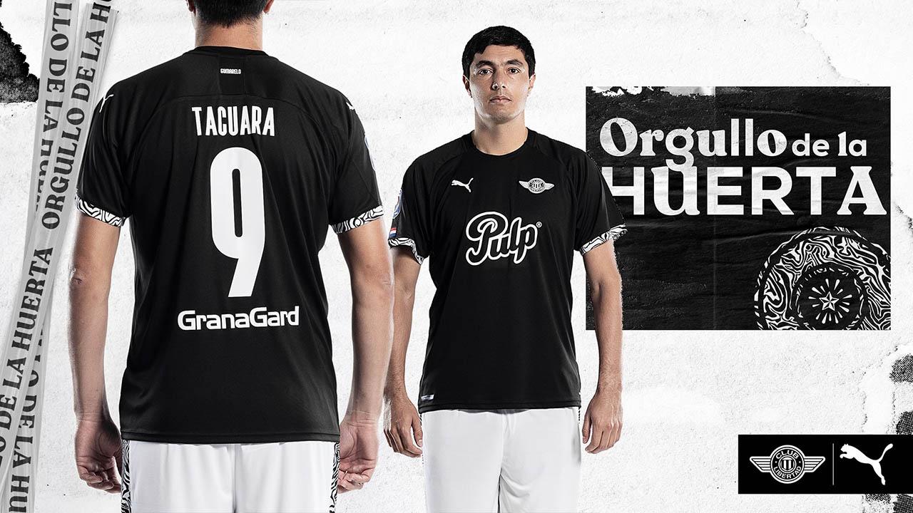 Camisas do Club Libertad 2020-2021 PUMA Reserva