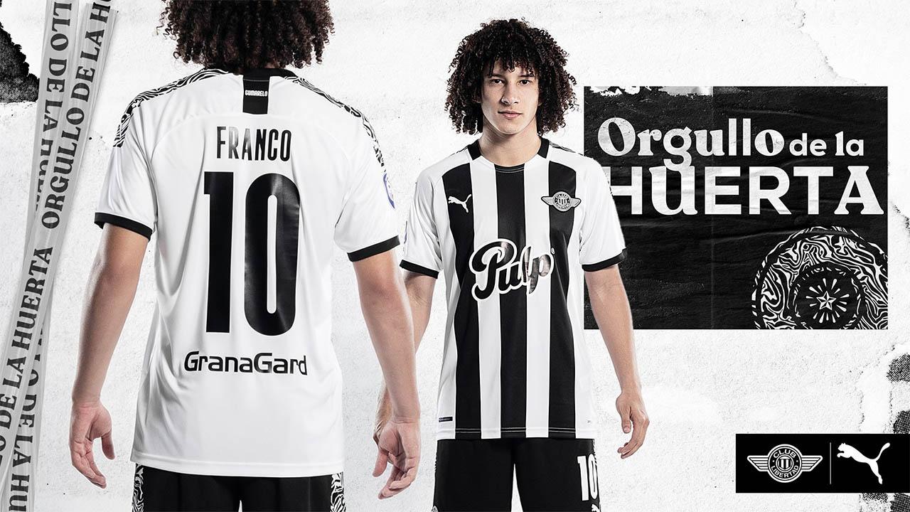 Camisas do Club Libertad 2020-2021 PUMA Titular