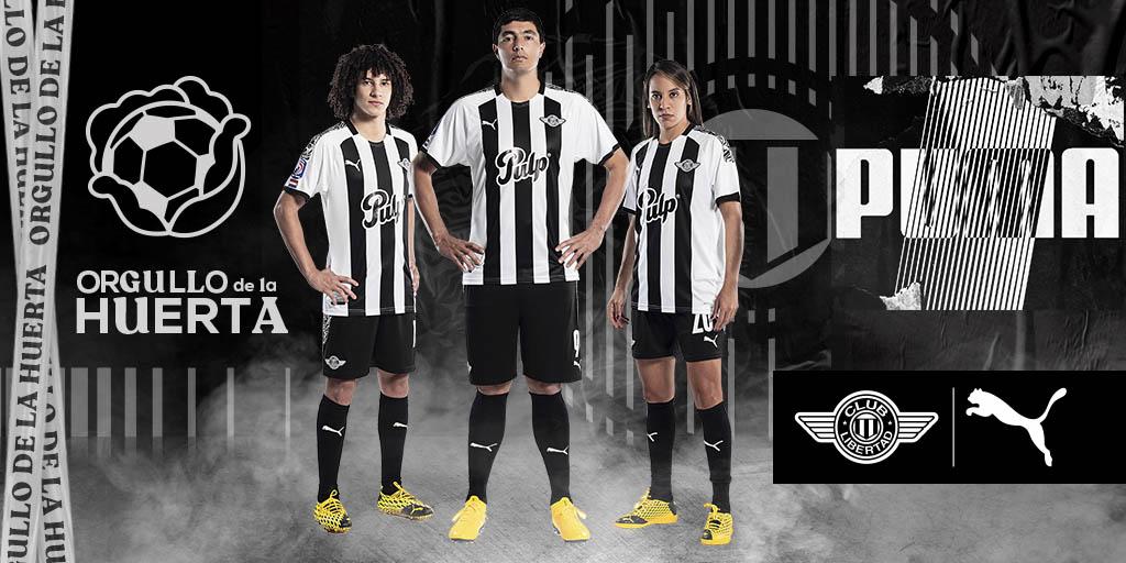 Camisas do Club Libertad 2020-2021 PUMA a