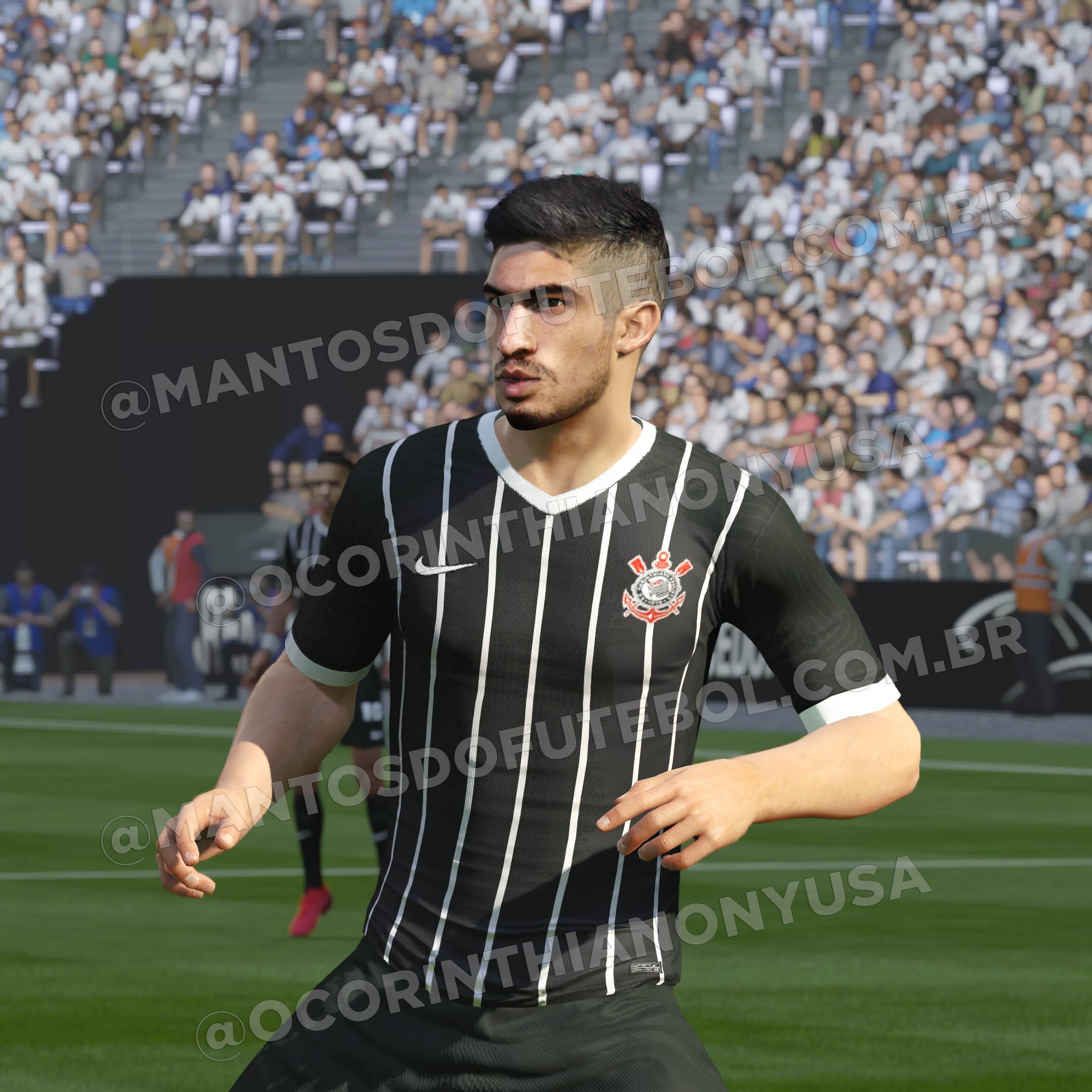 Camisas do Corinthians 2020-2021 Nike Reserva PH