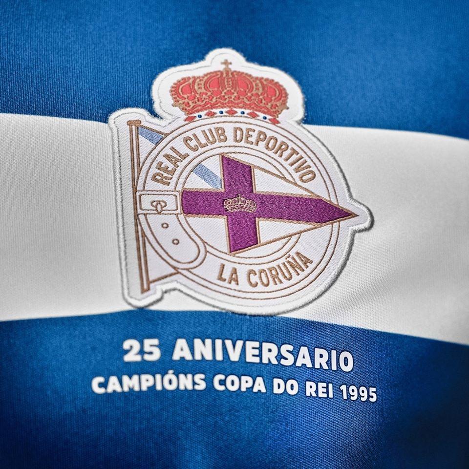 Camisas do Deportivo La Coruña 2020-2021 Macron