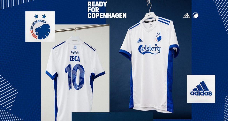 Camisas do FC Copenhagen 2020-2021 Adidas