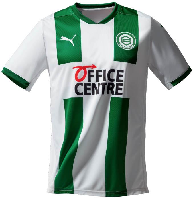 Camisas do FC Groningen 2020-2021 PUMA Titular