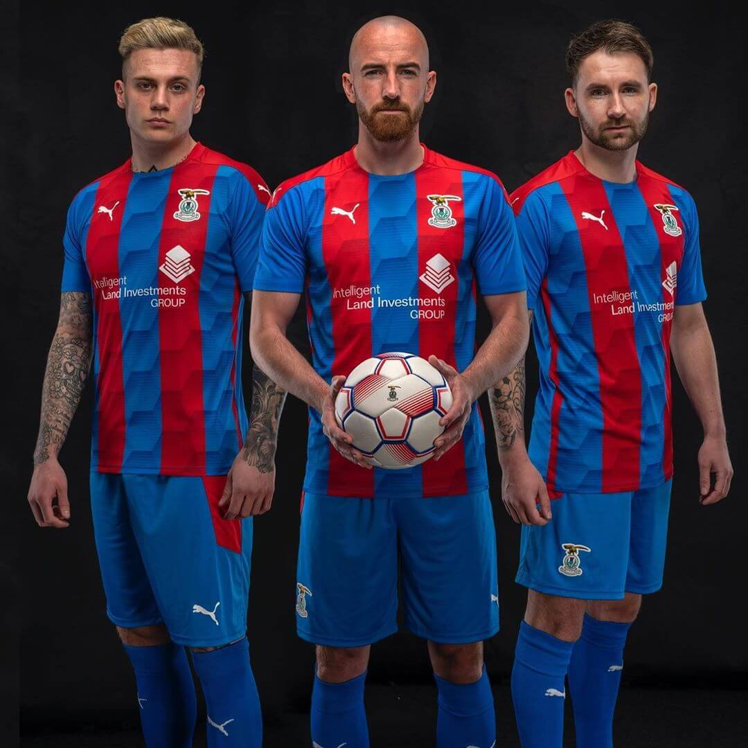 Camisas do Inverness Caledonian 2020-2021 PUMA