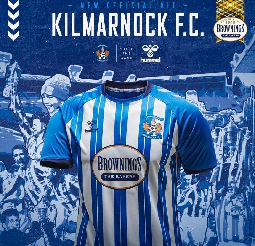 Camisas do Kilmarnock 2020-2021 Hummel