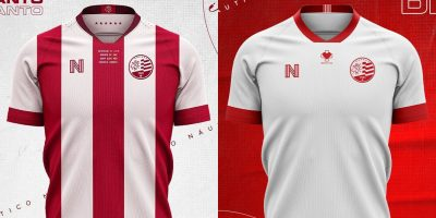 Camisas do Nautico 2020-2021 NSeis Reserva abre